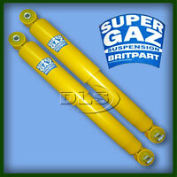 """LAND ROVER DISCOVERY 2 FRONT """"SUPERGAZ"""" GAS SHOCK ABSORBER SET (DC5000X2)"""