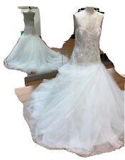 Allure Bridals luxurybeaded wedding dress with Swarovski Tulle Gown 10 Repair