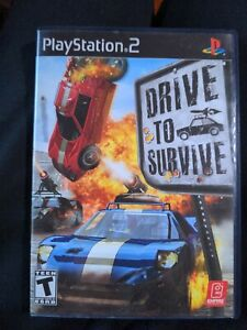 Drive to Survive (Sony PlayStation 2, 2006) Complete PS2