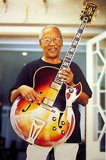 ERNEST RANGLIN ska reggae clipping Gibson Guild Starfire Guitar color photo