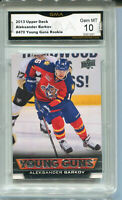 2013 Aleksander Barkov Upper Deck Young Guns Rookie Gem Mint 10 #470
