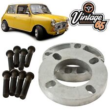 "Classic Austin Mini Clubman CITY 10 Mm Paire Roue Spacer Kit 3/8"" UNF XL Rivets"