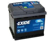 EXIDE Starterbatterie 50Ah EXCELL EB500 zzgl. 7,50€ Batteriepfand