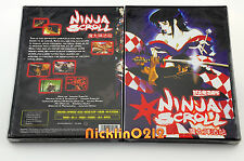 Ninja Scroll the Movie Anime DVD 120 Minutes in English New USA