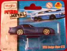 ** 1996 Dodge viper GTS ** maquette de voiture ** MAISTO ** FRESH METAL ** NOUVEAU **