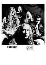 Obituary - Promo Press Photo 1990's - Florida Death Metal Celtic Frost Possessed