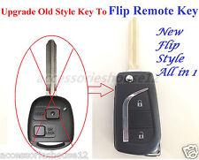Toyota Allin1 Flip Remote Complete Key for Prado 120  RAV4 Kluger Avensis Tarago