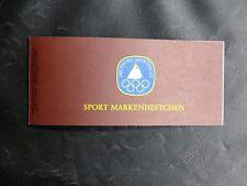 TIMBRES D'ALLEMAGNE : RFA 1981 SPORT MARKENHEFTCHEN YVERT N° 926 - TBE