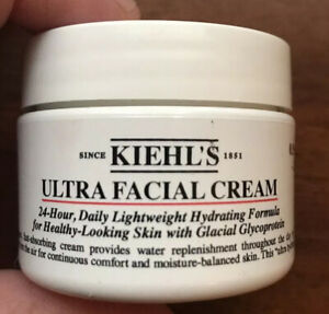 NEW Kiehl's Ultra Facial Cream - 24 Hour Hydrating Formula .95 Fl oz Sealed