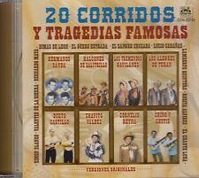 Hermanos Banda Halcones De Salitrillo Dueto Castillo 20 Corridos CD New Sealed