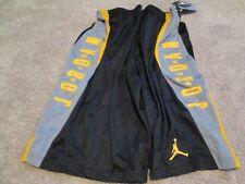 d8227fda1529 BRAND NEW NIKE Air Jordan Boys Athletic Basketball Shorts YLG Blk Gray FREE  SHIP
