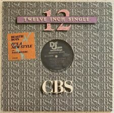 "Beastie Boys Paul Revere - 1986 Def Jam LP 12"" Single  12CXP 05958 Hype Sticker"