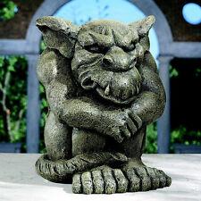 Gargoyle Gargouille Statue Home Patio Halloween Decor Garden Statuary Sculpture
