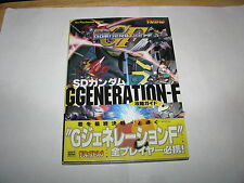 SD Gundam G Generation-F Playstation Guide Book Japan Import
