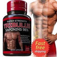 TRIBULUS TERRESTRIS 7500mg EXTRACT 96%25 SAPONINS BIG MUSCLE BODYBUILDING PILLS