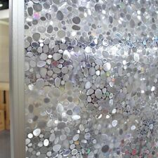 Pebble frosted etched glass Window Film static paper decorative vinyls privacy