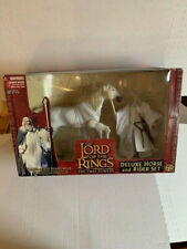 Marvel Toy Biz Lord of The Rings Gandalf & Shadowfax Deluxe Horse & Rider Set