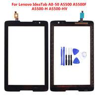 Original Touch Screen Glass Digitizer For Lenovo IdeaTab A8-50 A5500 + Tool