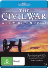 THE CIVIL WAR (Ken Burns) restored /remastered -  Blu Ray - Sealed Region B