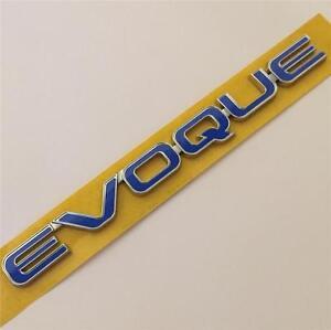 Evoque Range Rover  Blue Badge Emblem Logo Sticker SD4 Si4 TD4 GENUINE LR PART