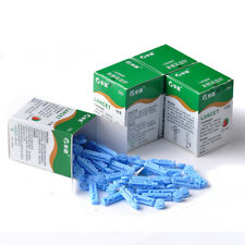 200pcs 28G Sterile Lancets For Blood Glucose Monitor Test Diabetes Monitoring