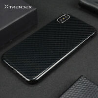 For iPhone 12 11 Pro Max 100% Real Genuine Carbon Fiber Matte Glossy Case Cover