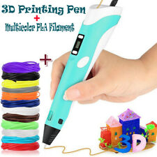 3D-Druckstift 3D Stereoscopic Printing Pen Für Kinder & Erwachsene Geeignet Neu