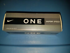 New Box of 3 Nike One Vapor speed golf balls