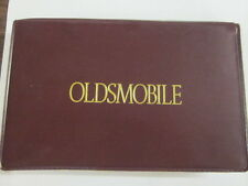 1991 Original GM OLDSMOBILE BRAVADA OWNERS MANUAL Soft Case FIRST Edition