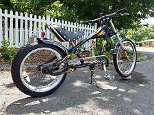 "Schwinn STINGRAY ORANGE COUNTY CHOPPER Black Bicycle Bike 20"" ~ NICE!"