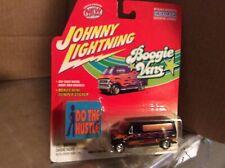1977 ford econoline 150 Black custom 2 Boogie vans 2002 1:64 Johnny lightning