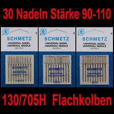 5 Nähmaschinennadeln universal  Flachkolben Nickelfrei