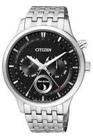 Citizen Men's Eco-Drive Moon Phase Day Month Calendar 42mm Watch AP1050-56E