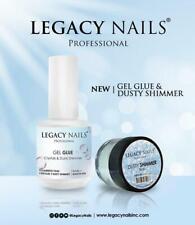 Legacy Nails GEL GLUE (.5oz) &/ DUSTY SHIMMER Bride 0.25oz