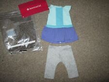 Authentic AMERICAN GIRL DOLL COLOR BLOCK DRESS OUTFIT CLOTHES NEW Rebecca Mia