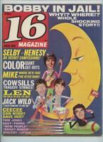 16 Magazine Dec. 1969 Bobby Sherman in Jail Cowsills Ceecee Mike Cole Monkees