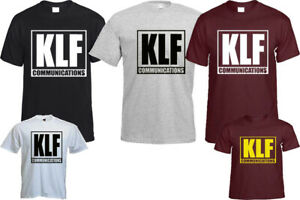 KLF COMMUNICATIONS T- SHIRT FITNESS FASHION BLOGGER HIPSTER CHRISTMAS TOP GIFT