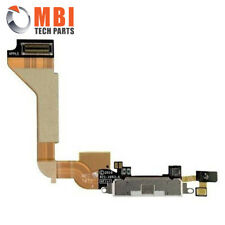 For iPhone 4 4G Charging Charger Port Dock Connector Flex Cable Mic White