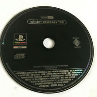 Winter Releases 98 Demo / Disc Only / Playstation 1 PS1 PS2 / SCED-01441# / #1