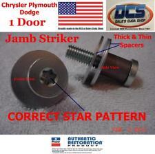 1970 71 72 73 74 Challenger Cuda E Body Door Jamb Striker Qty 1 3454485 MoPar