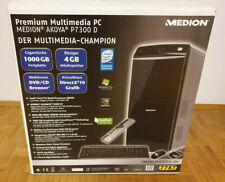 Medion Multimedia PC, Windows 10 64-Bit, 2x 1 TB HD, Super-Multi-BLURAY