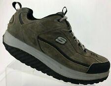 Skechers Shape Ups XT Walking Shoes Brown Workout Fitness Sneakers Mens 11.5