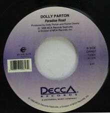 Country 45 Dolly Parton - Paradise Road / Honky Tonk Songs On Decca Records