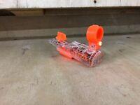 Nerf Modulas  Laser Scope Light Tactical Red Dot Sight Clear Transparent Orange