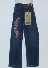 The Childrens Place Girls Adjustable Waist Embellished Skinny Denim Jeans 4 NWT