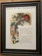 Alice in Wonderland by John Tenniel -60x80cm, cheshire cat, John Tenniel print