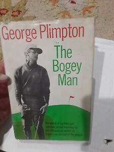 Vintage Golf Book The Bogey Man by George Plimpton 1968 Signed by Author hc