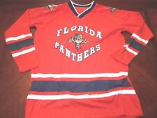 VINTAGE WINNING GOAL NHL FLORIDA PANTHERS KIRK MULLER JERSEY SIZE YOUTH L/XL