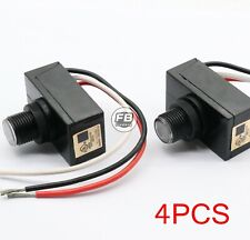 4cps Outdoor Electric Resistor Photocell Light Control Sensor Button Switch