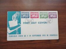 INDONESIA 1955 FIRST DAY COVER.